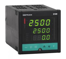 Vysoce výkonný regulátor on-off-pid Gefran 2500